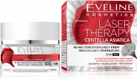 Eveline Cosmetics - LASER THERAPY - CENTELLA ASIATICA - Silnie odbudowujący krem redukujący zmarszczki - 50+