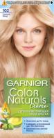GARNIER - COLOR NATURALS Creme - Trwała, rozjaśniająca  koloryzacja do włosów - 102 Lodowy Opalizujący Blond