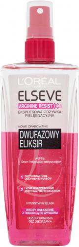 L'Oréal - ELSEVE - ARGININE RESIST X3 - Odżywka do włosów osłabionych i wypadających - 200 ml - BEZ SPŁUKIWANIA