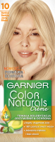 GARNIER - COLOR NATURALS Creme - Permanent, nourishing hair coloring - 10 Ultra Light Blonde