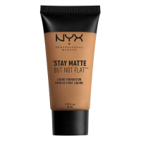 NYX Professional Makeup - STAY MATTE BUT NOT FLAT LIQUID FOUNDATION - Podkład matujący - SMF18.3 - DEEP GOLDEN - SMF18.3 - DEEP GOLDEN
