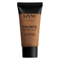 NYX Professional Makeup - STAY MATTE BUT NOT FLAT LIQUID FOUNDATION - Podkład matujący - SMF18.5 - DEEP OLIVE - SMF18.5 - DEEP OLIVE