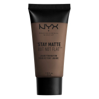 NYX Professional Makeup - STAY MATTE BUT NOT FLAT LIQUID FOUNDATION - Podkład matujący - SMF20 - DEEP DARK - SMF20 - DEEP DARK