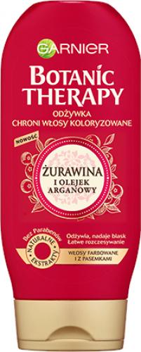 GARNIER - BOTANIC THERAPY - Odżywka do włosów farbowanych - Żurawina i Olejek Areganowy - 200 ml