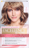 L'Oréal - EXCELLENCE Creme - Hair coloring with triple care - 7 Blond