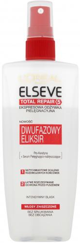 L'Oréal - ELSEVE - TOTAL REPAIR 5 - Odżywka do włosów zniszczonych - 200 ml - BEZ SPŁUKIWANIA