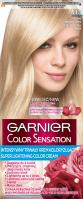 GARNIER - COLOR SENSATION - Trwały krem koloryzujący do włosów - 113 Beżowy Superjasny Blond