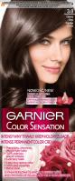 GARNIER - COLOR SENSATION - Permanent hair coloring cream - 3.0 Prestige Brown