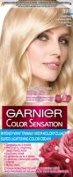 GARNIER - COLOR SENSATION - Trwały krem koloryzujący do włosów - 110 Diamentowy Superjasny Blond