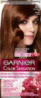 GARNIER - COLOR SENSATION - Trwały krem koloryzujący do włosów - 5.35 Cynamonowy Brąz