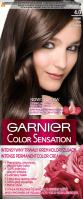 GARNIER - COLOR SENSATION - Trwały krem koloryzujący do włosów - 4.0 Głęboki Brąz