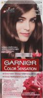 GARNIER - COLOR SENSATION - Trwały krem koloryzujący do włosów - 6.15 Jasny Rubinowy Brąz