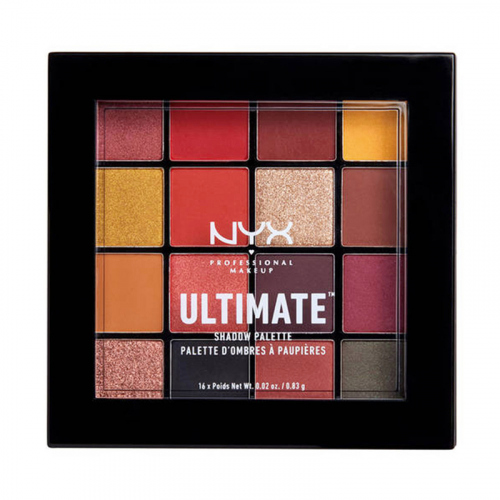 NYX Professional Makeup - ULTIMATE SHADOW PALETTE - Paleta 16 cieni do powiek - 09 PHOENIX
