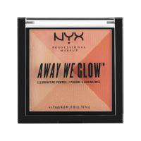 NYX Professional Makeup - AWAY WE GLOW - ILLUMINATING POWDER - Rozświetlacz do twarzy