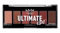 NYX Professional Makeup - ULTIMATE EDIT - PETITE PALETTE - Paleta 6 cieni do powiek - 01 WARM NEUTRALS
