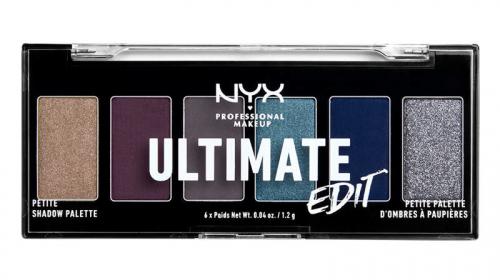 NYX Professional Makeup - ULTIMATE EDIT - PETITE PALETTE - Paleta 6 cieni do powiek - 04 ASH