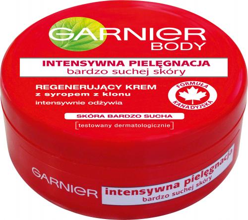 GARNIER - BODY CREAM - Regenerujący krem do skóry bardzo suchej z syropem z klonu - 200 ml