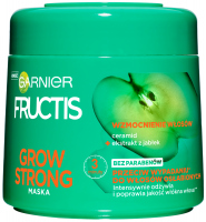 GARNIER - FRUCTIS - GROW STRONG - Strengthening mask for weak and falling hair - 300 ml