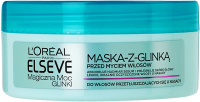 L'Oréal - ELSEVE - Magical Power of Clay - Mask for oily hair at the roots - 150 ml
