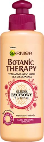 GARNIER - BOTANIC THERAPY - Strengthening cream for weak and brittle hair - Castor Oil & Almond - 200 ml