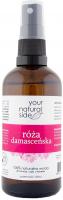 Your Natural Side - 100% naturalna woda z róży damasceńskiej - 100 ml - Spray