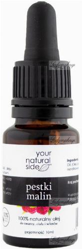 Your Natural Side - 100% naturalny olej z pestek malin - 10 ml