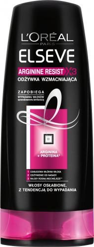 L'Oréal - ELSEVE - ARGININE RESIST X3 - Wzmacniająca odżywka do włosów osłabionych i łamliwych - 200 ml