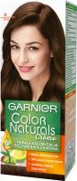 GARNIER - COLOR NATURALS Creme - Trwała, odżywcza koloryzacja do włosów - 4 Brąz