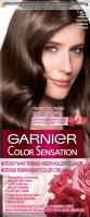 GARNIER - COLOR SENSATION - Trwały krem koloryzujący do włosów - 5.0 Jasny Brąz
