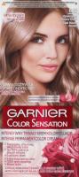 GARNIER - COLOR SENSATION - Trwały krem koloryzujący do włosów - 8.12 Opalizujący Różowy Blond