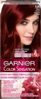 GARNIER - COLOR SENSATION - Trwały krem koloryzujący do włosów - 4.60 Ciemna Czerwień