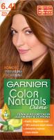GARNIER - COLOR NATURALS Creme - Trwała, odżywcza koloryzacja do włosów - 6.41 Złoty Bursztyn