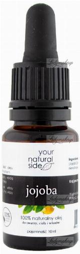 Your Natural Side - 100% naturalny olej jojoba - 10 ml