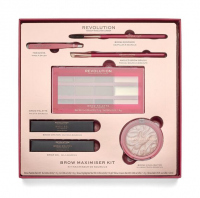 MAKEUP REVOLUTION - BROW MAXIMISER KIT - A set of cosmetics for eyebrow makeup