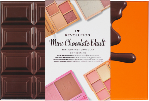 I Heart Revolution - Mini Chocolate Vault - Gift set for eye and face makeup