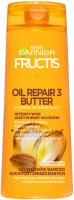 GARNIER - FRUCTIS - OIL REPAIR 3 BUTTER - Wzmacniający szampon do włosów bardzo suchych i zniszczonych - 400 ml