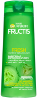 GARNIER - FRUCTIS FRESH - Strengthening and cleansing shampoo for normal and oily hair - 400 ml