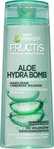 GARNIER - ALOE HYDRA BOMB - Strengthening and moisturizing shampoo for dehydrated hair - 400 ml
