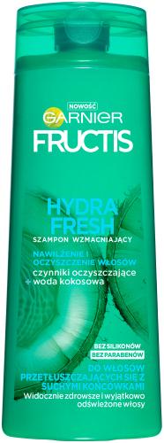 GARNIER - FRUCTIS - HYDRA FRESH - Strengthening shampoo for oily hair - 400 ml