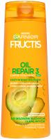 GARNIER - FRUCTIS - OIL REPAIR 3 - Strengthening shampoo for dry and brittle hair 2in1 - 400 ml