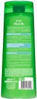 GARNIER - FRUCTIS - CLEAN FRESH - Przeciwłupieżowy szampon wzmacniający do włosów przetłuszczających się - 400 ml