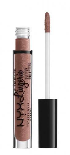 NYX Professional Makeup - LIP Lingerie Glitter Paillettes - Brokatowy błyszczyk do ust