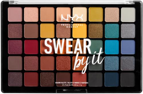 NYX Professional Makeup - SWEAR by it - Shadow Palette - Paleta 40 cieni do powiek