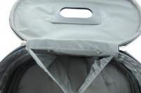 Inter-Vion - Kufer kosmetyczny 413567 A - DUŻY (CZARNY)