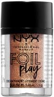NYX Professional Makeup - FOIL PLAY CREAM PIGMENT - Kremowy pigment do powiek