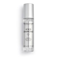 MAKEUP REVOLUTION - MAKEUP FIXING SPRAY - Spray makeup fixer - ICED DIAMOND - 100 ml