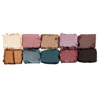 NYX Professional Makeup - MYSTIC PETALS - SHADOW PALETTE - 10 eye shadows - DARK MYSTIC