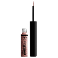 NYX Professional Makeup - Glitter Goals Liquid Liner - Brokatowy eyeliner w płynie - CRYSTAL BALL - CRYSTAL BALL