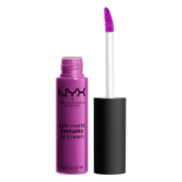 NYX Professional Makeup - SOFT MATTE METALLIC LIP CREAM - Metaliczna, matowa pomadka do ust - C08 - SEOUL - C08 - SEOUL