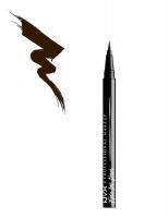 NYX Professional Makeup - Epic Ink Liner - Wodoodporny eyeliner w pisaku - BROWN - BROWN